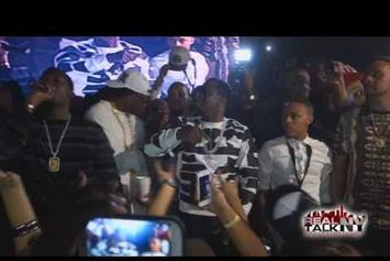 Diddy & Meek Mill At Floyd Mayweather After Party