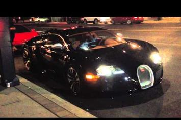 Drake Has Trouble Starting His Bugatti Veyron