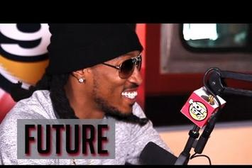 "Future ""Tells Angie Martinez That Ciara's The One"" Video"