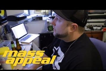 "Statik Selektah ""Creates A Beat From Random Records"" Video"