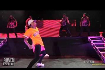 "Chris Brown Feat. Sean Kingston ""Performs ""Beat It"" Live @ Powerhouse 2013"" Video"