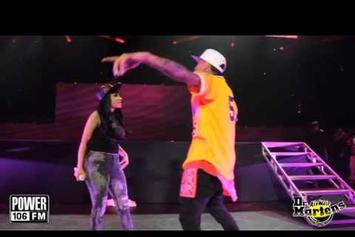 "Chris Brown Feat. Nicki Minaj ""Brings Out Nicki Minaj @ Powerhouse 2013"" Video"