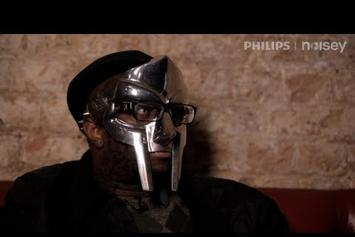 "DOOM Feat. Steve 'ESPO' Powers ""Talks New Mask, JJ Doom & Graffiti"" Video"