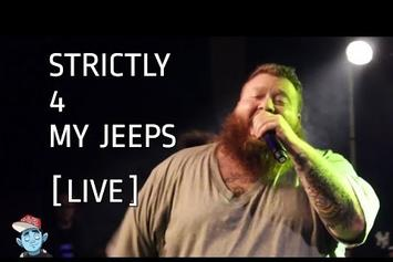 "Action Bronson Feat. Danny Brown ""Strictly 4 My Jeeps (Live In London)"" Video"