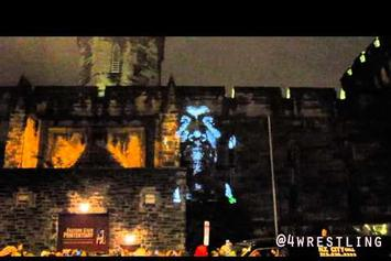 "Kanye West """"New Slaves"" Projection In Philly"" Video"