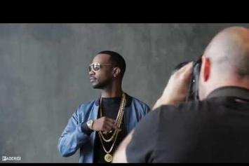 "Juicy J ""BTS Of Fader Cover Shoot"" Video"