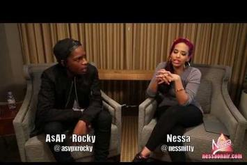 "ASAP Rocky ""Talks Instrumental Album & Touring With Rihanna"" Video"