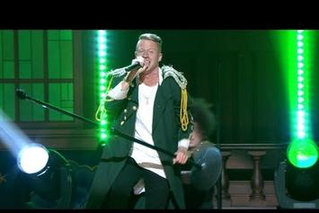 """Macklemore Feat. Ryan Lewis """"Perform """"Can't Hold Us"""" On Conan"""" Video"""