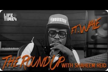 """Wale """"Talks """"The Gifted"""""""" Video"""