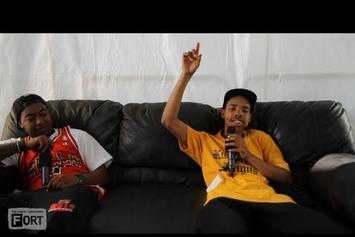 "Earl Sweatshirt Feat. Domo Genesis ""Talks Returning To L.A., Being In Public Eye & More"" Video"