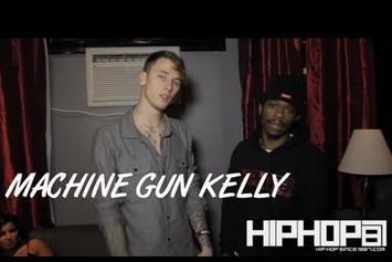 "Machine Gun Kelly ""Talks ""Black Flag"" Mixtape"" Video"