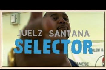 "Juelz Santana ""Pitchfork Selector Freestyle"" Video"