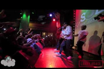 "Ab-Soul ""Brings Out Kendrick Lamar At SOB's"" Video"