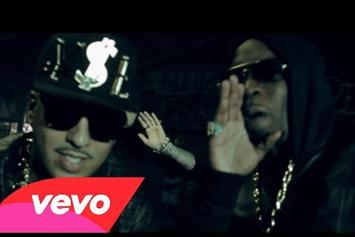 """French Montana Feat. Diddy, Red Cafe, MGK, & Los """"Ocho Cinco"""" Video"""
