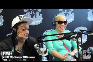 "Wiz Khalifa Feat. Amber Rose ""Talks Baby, Next Single Off ""O.N.I.F.C."""" Video"