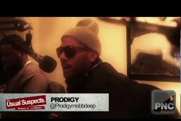 "Prodigy (Mobb Deep) """"The Usual Suspects"" Freestyle"" Video"