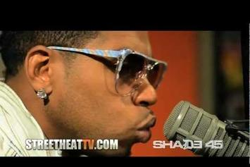 """Bobby V Feat. Feat. Lil Wayne """"Performs """"Mirror"""" on Shade 45 """" Video"""