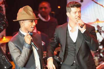 "Robin Thicke & Pharrell Lose ""Blurred Lines"" Suit; Must Pay $7 Million"