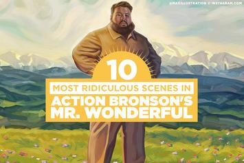 "The 10 Most Ridiculous Scenes In Action Bronson's ""Mr. Wonderful"""