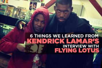 6 Things We Learned From Kendrick Lamar's Interview With Flying Lotus