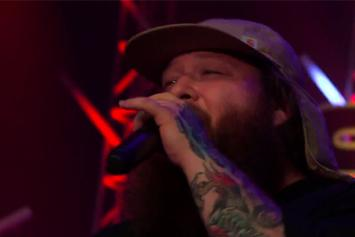 "Action Bronson Performs ""Actin' Crazy"" On Skee TV"