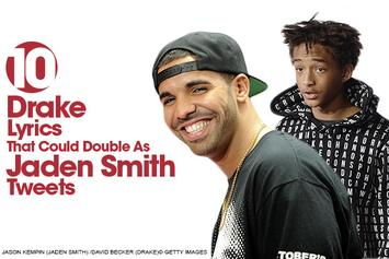 10 Drake Lyrics That Could Double As Jaden Smith Tweets