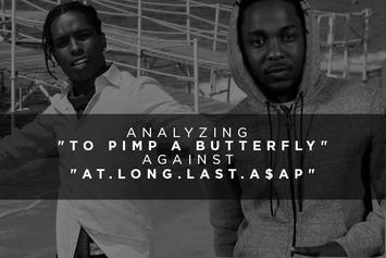 """Analyzing """"To Pimp A Butterfly"""" Against """"At.Long.Last.A$AP"""""""