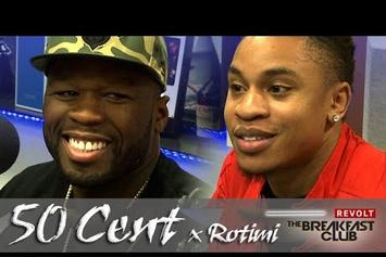 50 Cent & Rotimi On The Breakfast Club