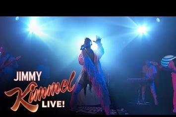"""Miguel Performs """"Coffee"""" On Jimmy Kimmel Live"""