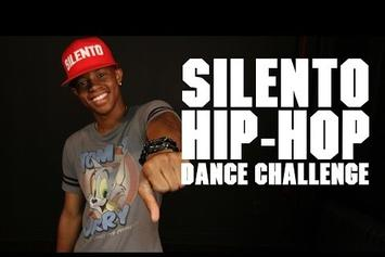 Silentó Takes A Dance Challenge