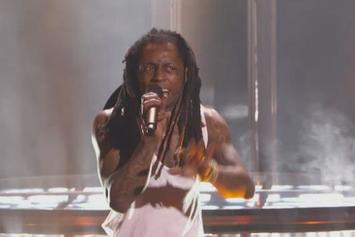 "Lil Wayne Performs ""Glory"" At BET's Players Award"