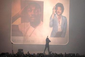 "Drake Performs ""Back To Back"" At OVO Fest"