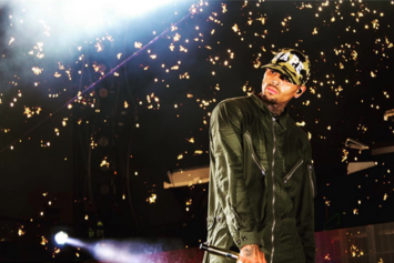 Chris Brown Gets Huge Tattoo On The Back Of His Head
