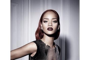 Rihanna Models For Dior Magazine
