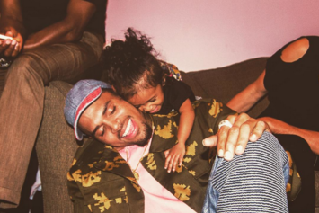 Chris Brown Brings Out Royalty On Stage After Winning Joint Custody