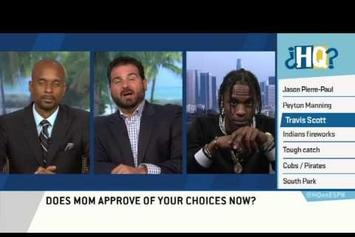 Travi$ Scott Dodges Rihanna Questions On ESPN's Highly Questionable