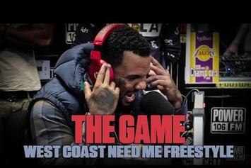 The Game Sends More Shots At Stitches In Power 106 Freestyle