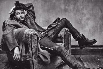 The Weeknd Covers Rolling Stone