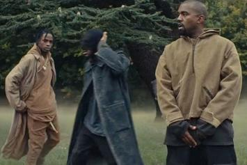 """Travi$ Scott Feat. Kanye West """"Piss On Your Grave"""" Video"""