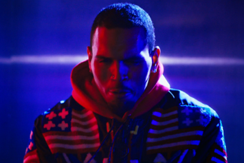 "Chris Brown ""Fine By Me"" Video"