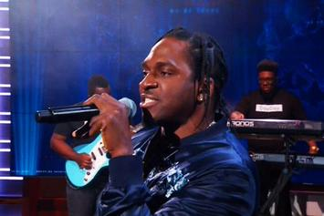 "Pusha T Debuts New Song ""Sunshine"" On ""The Daily Show"""