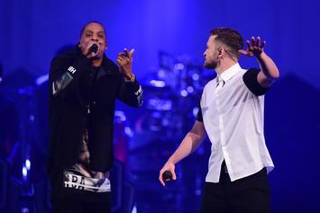 "Universal Is Being Sued Over Justin Timberlake & Jay Z's ""Suit & Tie"""
