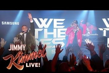 DJ Khaled & Future Perform On Jimmy Kimmel