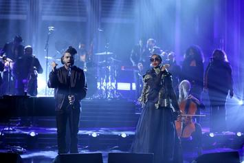 """The Weeknd & Lauryn Hill Perform """"In The Night"""" On Jimmy Fallon"""