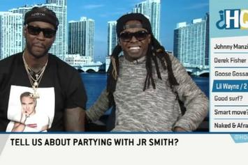 "Lil Wayne & 2 Chainz On ESPN's ""Highly Questionable"""