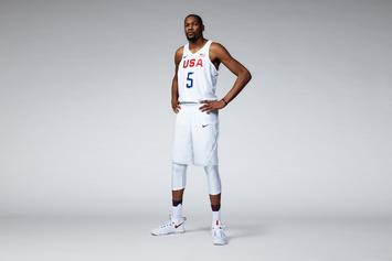 Nike Unveils The 2016 USA Basketball Jerseys For The Olympics