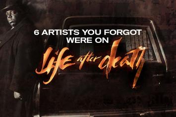 """6 Artists You Forgot Were on """"Life After Death"""""""