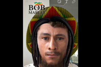 Is This Bob Marley Snapchat Filter Racist?