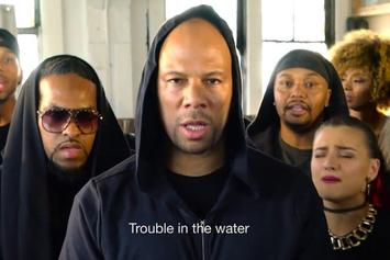"Common & Malik Yusef ""Trouble In The Water"" Video"