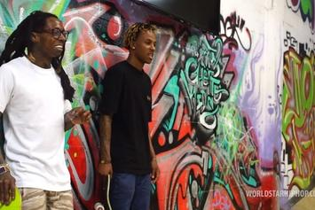 Lil Wayne & Rich The Kid Skateboard Session Vlog
